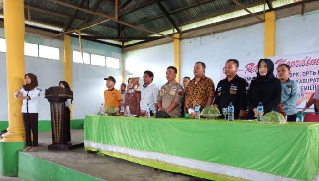 Gelar Rakor Pemutakhiran DPTb dan DPK di  Dapil II, Ini Pesan Ketua KPUD Konsel