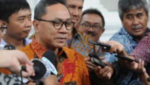 Zulkifli Hasan Ketua MPR RI FOTO : RUL
