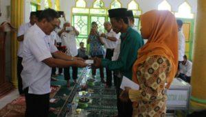 Bupati Koltim Ingatkan Agar Kades, Lurah dan Camat Rajin ke Masjid FOTO : JUSRAN
