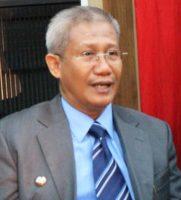 Ketua KONI Sultra Dr. H Lukman Abunawas. FOTO : INT