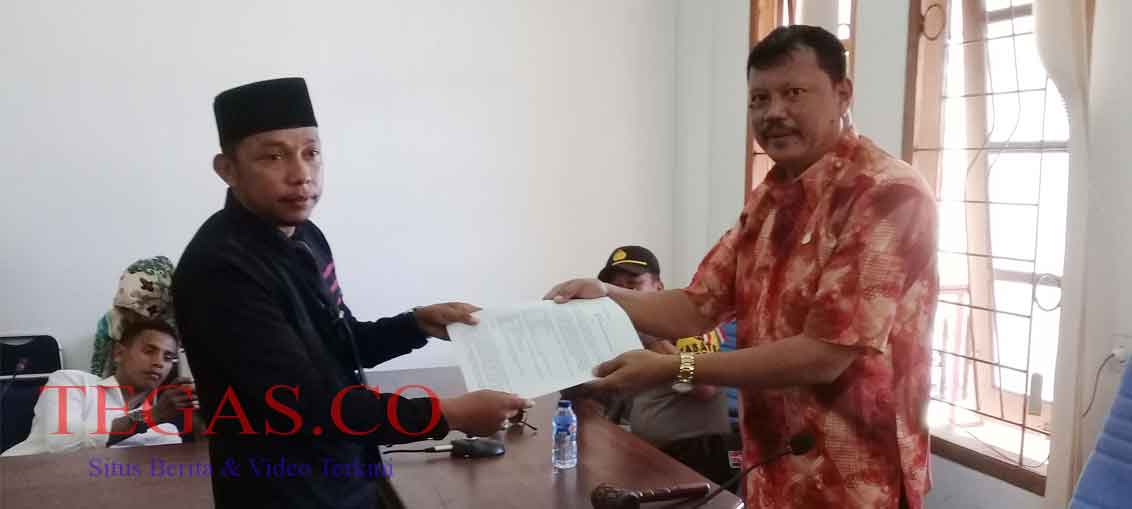 PMKB Demo di DPRD Buton Minta Rafiun Dipecat