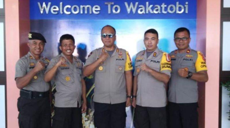 Video, Polda Sultra Asistensi Ops Mantap Brata di Polres Wakatobi