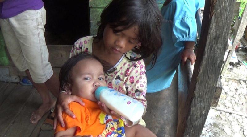 Orang Tua Lumpuh, Bayi 15 Bulan di Kolaka Minum Susu Pakai Air Gula