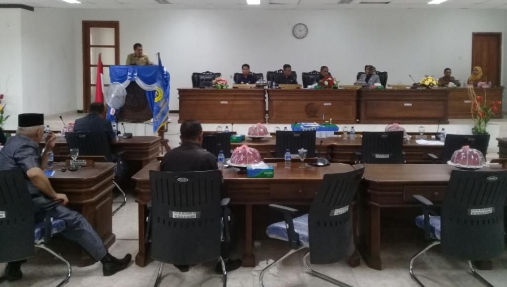 APBD Tahun 2019, Berhasil Disidang Paripurnakan DPRD dan Pemkab Buton
