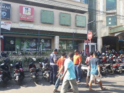Marak Pelanggaran Karcis, Dishub Kota Yogyakarta Gelar Razia Parkir. FOTO : NADHIR ATTAMIMI
