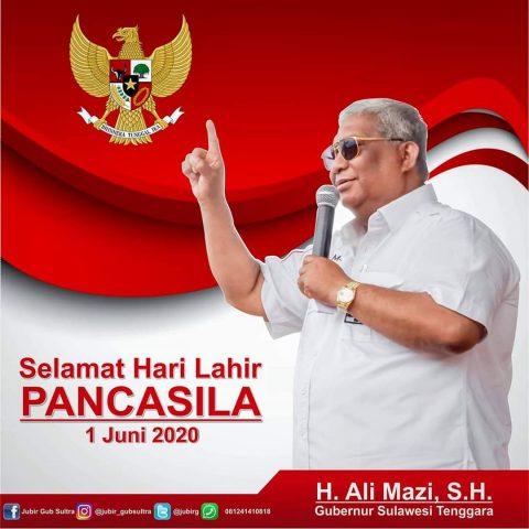 Iklan Hari Lahir Pancasila gubernur