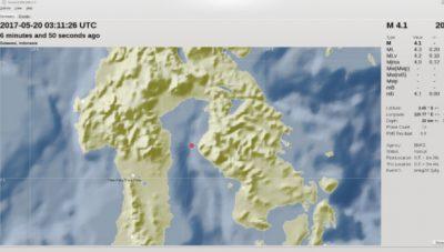 Wilayah Barat Laut Lasusua Diguncang Gempa Bumi