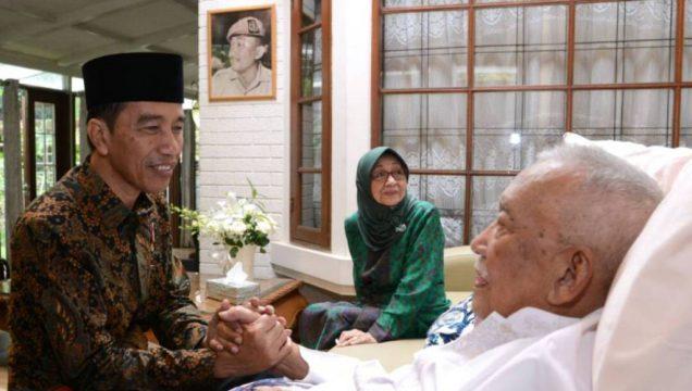 Presiden Ajak Masyarakat Mendoakan Untuk Kesembuhan Mang Ihin