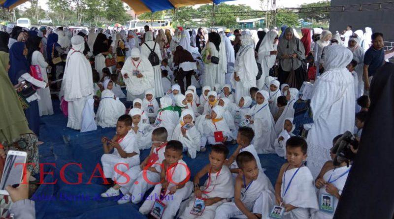 Ratusan Murid TK Ikuti Manasik Haji