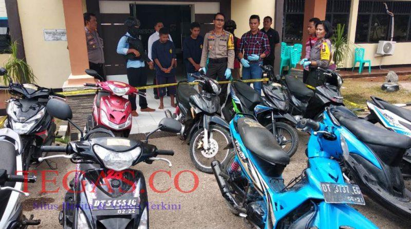 Dua Pelaku Curanmor di Baubau Ditangkap, Satu Pelaku di Dor Timah Panas