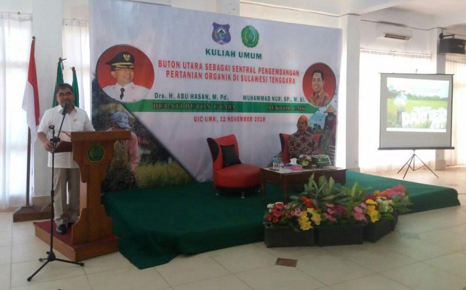 Bawakan Kuliah Umum di UMK, Abu Hasan Perkenalkan Program Unggulan Butur