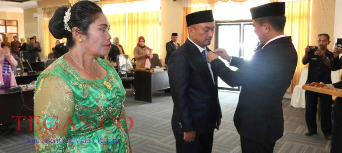 Hasil PAW, Binmas Mangidi dan Ni Nyoman Sunarmi Sah Menjadi Anggota DPRD Konsel