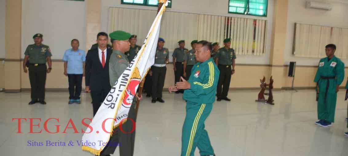 Kasrem 134/Ho Lepas 8 Atlet Yongmoodo Sultra untuk Ikuti Kejurnas di Bali