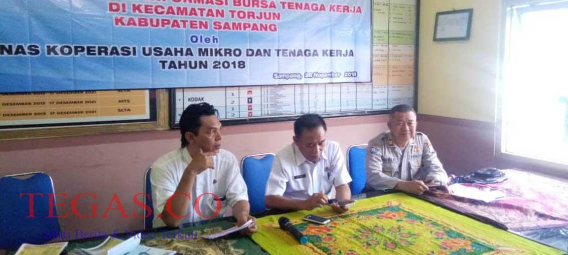 Diskumnaker Sampang Sosialisasikan Penyebarluasan Informasi Bursa Tenaga Kerja