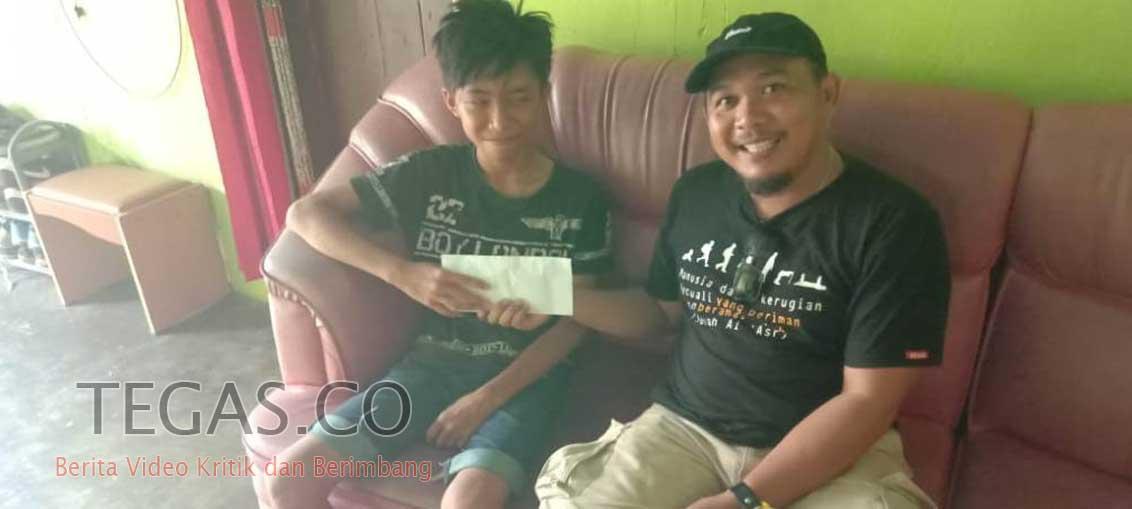IMI Sulawesi Tenggara Santuni Korban Kecelakaan Balap Motor Porprov
