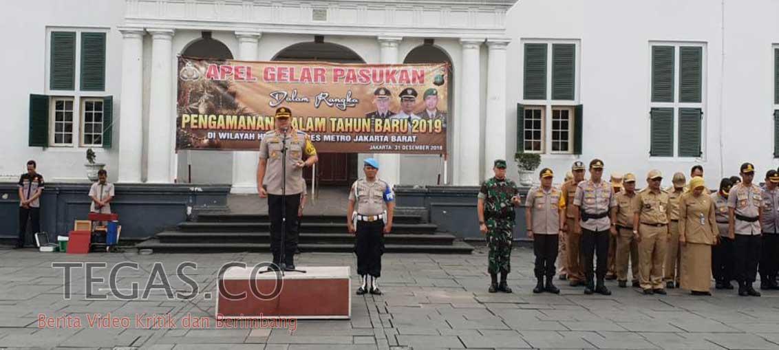 Polres Jakbar Terjunkan 736 Personel Gabungan untuk Amankan Malam Tahun Baru