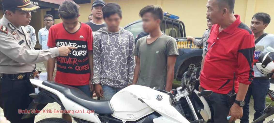 Tiga Pelaku Curanmor di Kendari Berhasil Diungkap Polres Muna