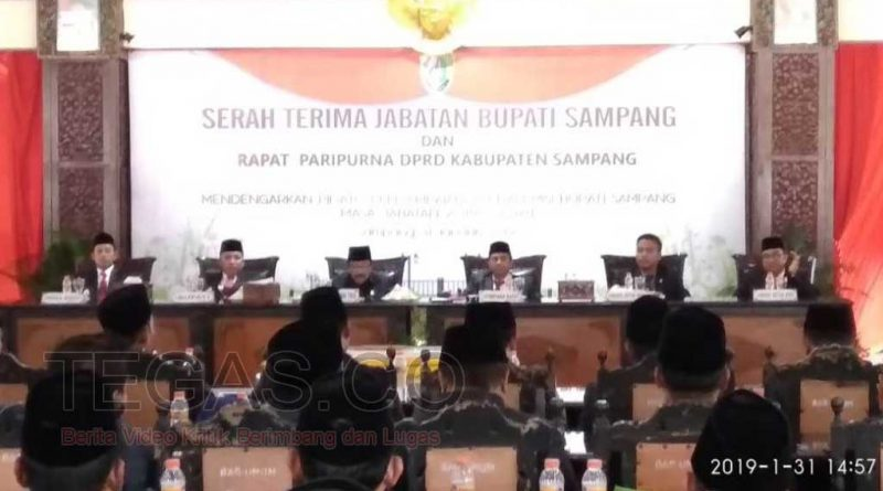 Gubernur Jatim Hadiri Sertijab Bupati dan Wakil Bupati Sampang