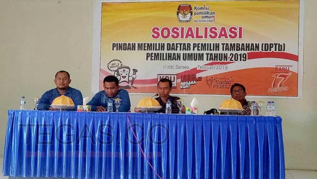 Sosialisasikan DPtb, KPU Butur: Akan Dibuatkan TPS Khusus Tiap Kecamatan