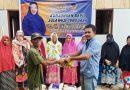 Kunjungan Dapil, Hj Tina Nur Alam Bagi Sembako