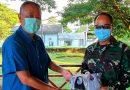 Tiga Organisasi Tionghoa Makassar Berikan Bantuan APD Kepada Lantamal VI