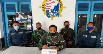 Kadispen Koarmada II ikuti Rapat Pimpinan Kadispenal Lewat Vicon