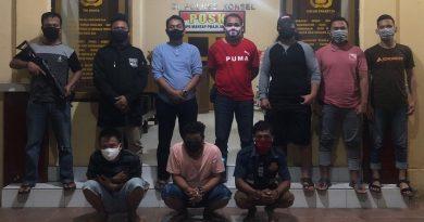 Edarkan Sabu, Tiga Pemuda Diamankan Satres Narkoba Polres Konsel