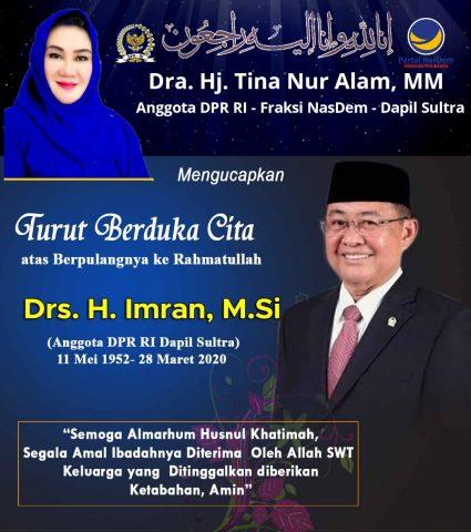 Iklan Duka Tina Nur Alam Pak Imran