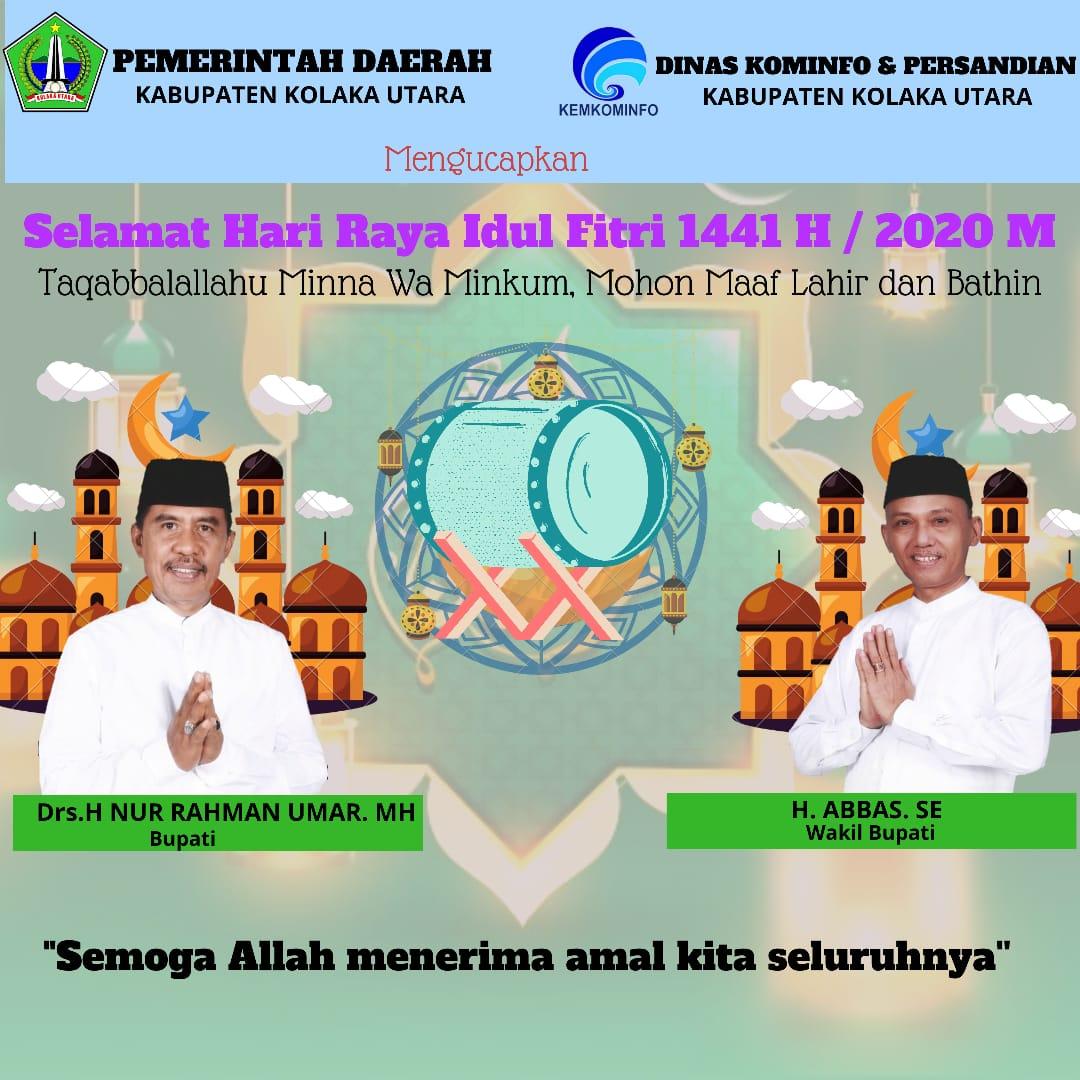 Iklan Idul Fitri Pemda Kolut
