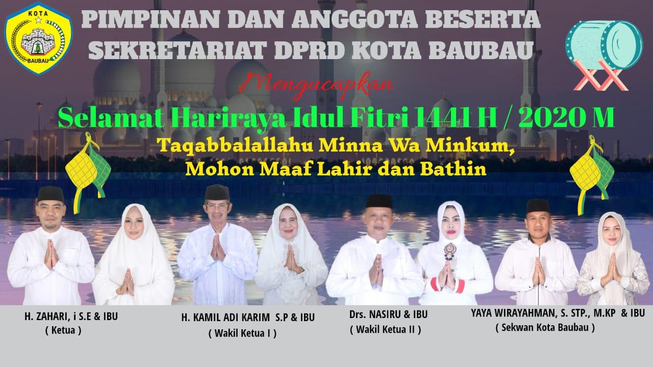 Iklan Idul fitri DPR Baubau
