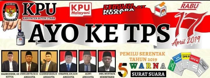 Iklan KPU Butur Imbauan