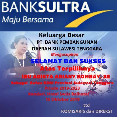 Iklan Koni Bank BPD Sultra