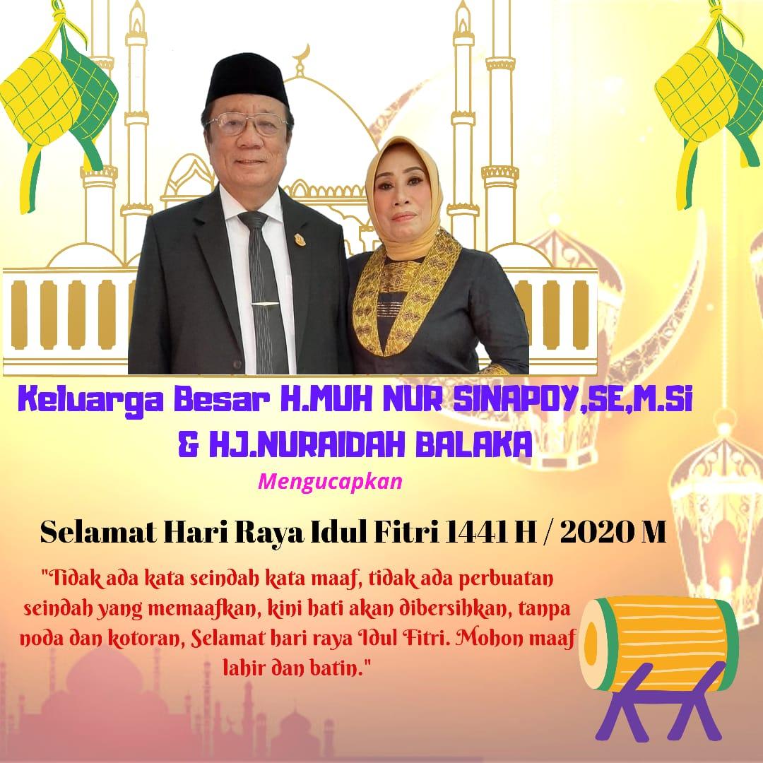 Iklan idul Fitri Nur Sinapoy