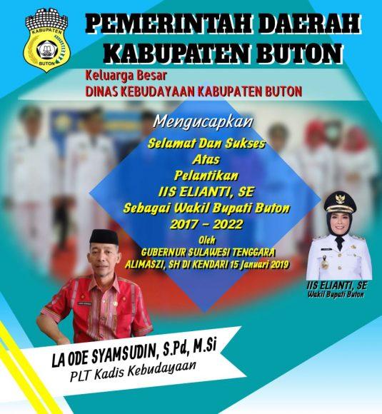 Iklan pelantikan Wakil Buapti Buton (10)