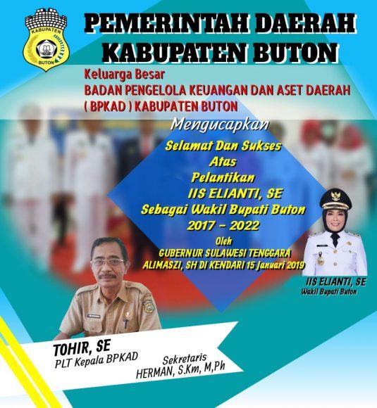 Iklan pelantikan Wakil Buapti Buton (6)