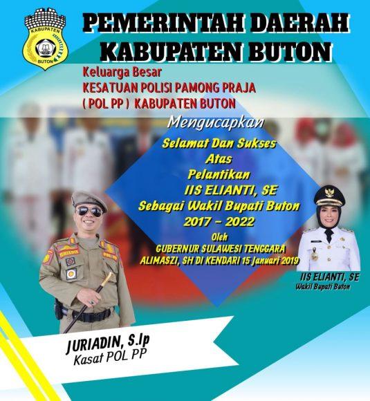 Iklan pelantikan Wakil Buapti Buton (7)