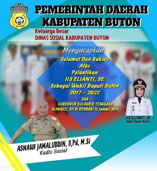 Iklan pelantikan Wakil Buapti Buton (9)
