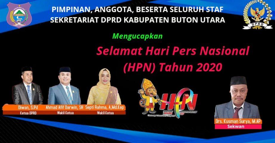 Iklan ucapan HPN DPRD Butur