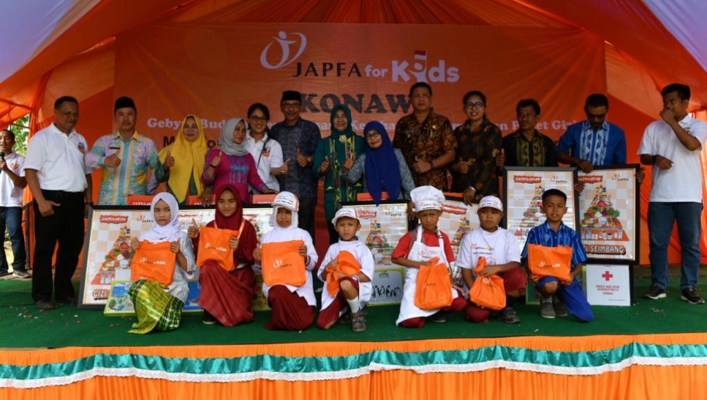 JAPFA Menjadi Tumpuan Bangun Sekolah Sehat di Konawe