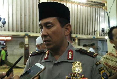 Kapolda Daerah Istimewa Yogyakarta, Brigjend Pol Ahmad Dofiri. FOTO : NADHIR
