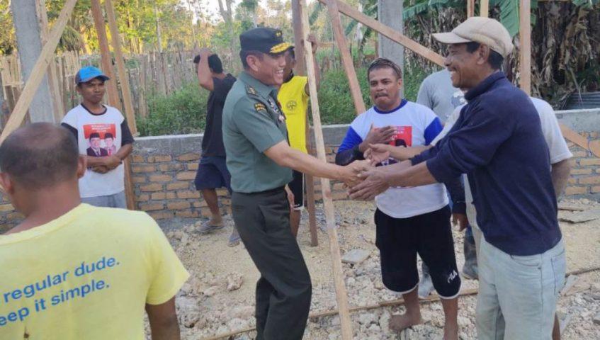 Mayjen TNI Agus Suhardi Kunjungi Lokasi TMMD Kodim 1413/Buton