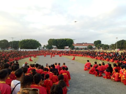 Peringati Milad, Tapak Suci Muhammadiyah Gelar Latihan Nasional. FOTO : NADHIR ATTAMIMI