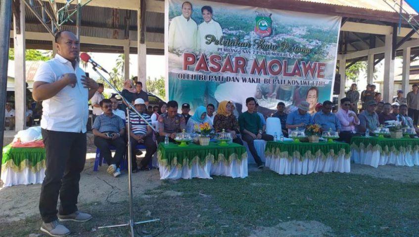 Pemda Konut Bangun Pasar Modern Molawe