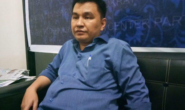 Ketua DPD Partai demokrat Sultra Muh Endang SA. FOTO : FA