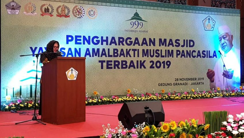 Pak Harto Mungkinkan Pegawai Negeri Beramal Bangun Masjid