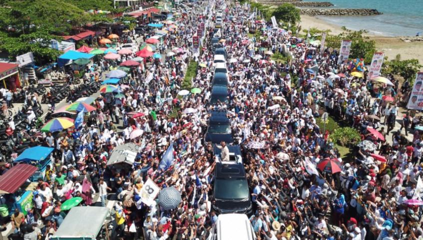 Prabowo: Maaf Saya Tidak Memberi Amplop, Tapi Saya Berikan Jiwa dan Raga Ini
