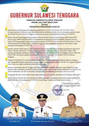 Maklumat Gubernur Sultra