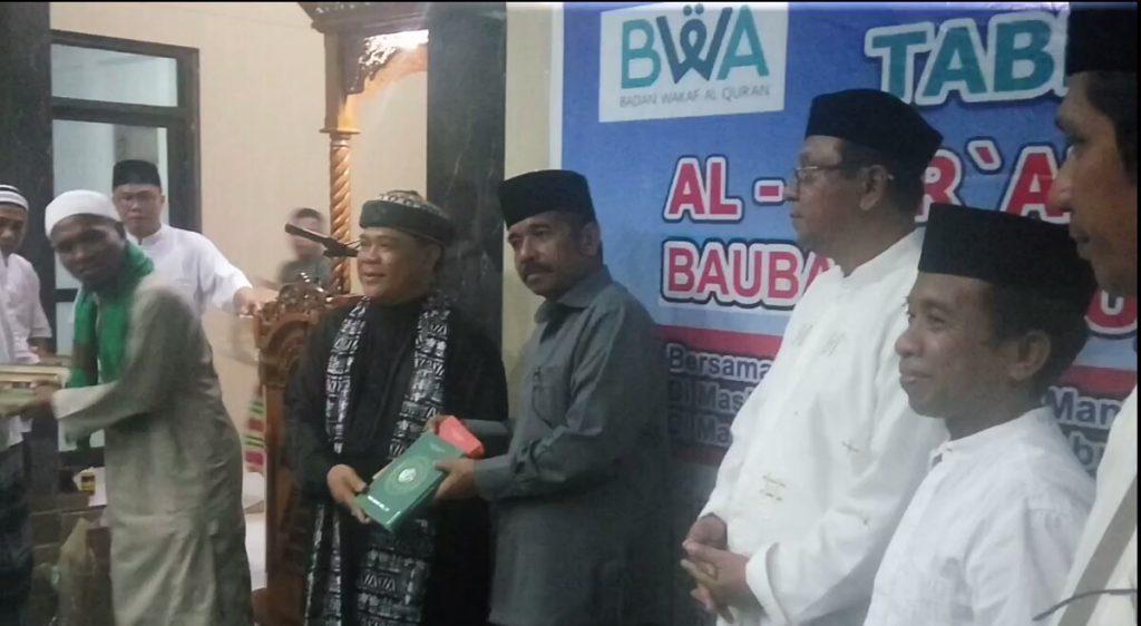Mantan Rocker Dakwah di Masjid Islamic Center Kota Baubau