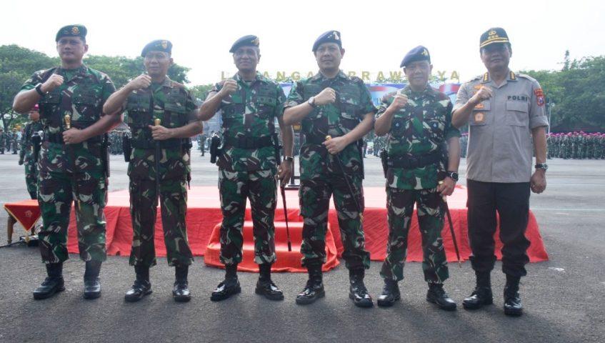 Koarmada II Dukung Penuh Sinergitas TNI-Polri