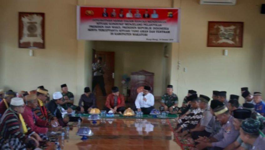 Jelang Pelantikan Presiden, Polres Wakatobi Gelar Doa Bersama